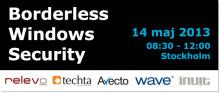 Inuit bjuder in till Borderless Windows Security den 14 maj