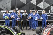 Många leenden under lyckad testdag för pristagarna i Prins Carl Philips Racing Pokal