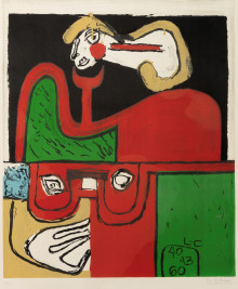 Experience Le Corbusier as a graphic artist for the first time since 1966!