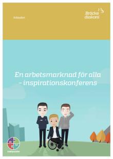 En arbetsmarknad för alla - inbjudan