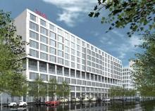 Taklagsfesten avklarad – nu fortsätter bygget av Scandic Berlin Potsdamer Platz