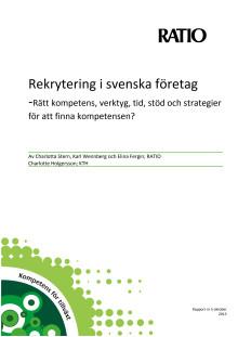 Rekrytering i svenska företag