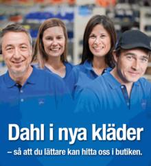 Klädbyte på DahlCenter – ökad synlighet, säkerhet och service