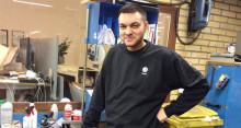 Philip gjorde gott intryck i verkstaden och blev anställd av Volkswagen