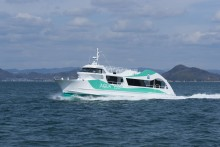"TSUNEISHI FACILITIES & CRAFT completes construction and delivery of the underwater sightseeing boat ""AQUA EDDY"": Observation of the world's largest whirlpools in the Naruto Strait from inside the boat"