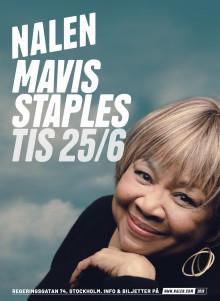 MAVIS STAPLES TILL SVERIGE 2019