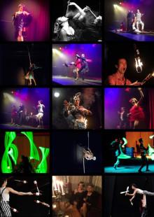Swing, akrobatik och eld på  Club HepCat 9 april