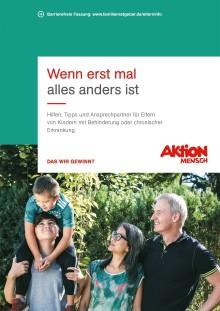"""""""Wenn erst mal alles anders ist"""" - Neuer Ratgeber für Eltern von Kindern mit Behinderung oder chronischer Erkrankung"""