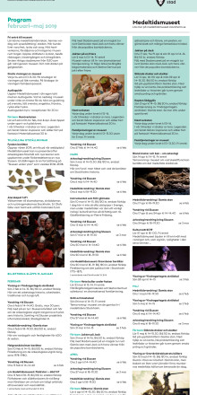 Vårprogram 2019 Stadsmuseet och Medeltidsmuseet (pdf)