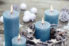 Sicher durch die Weihnachtszeit - Tipps zum Umgang mit Kerzen