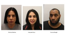 Three people have been convicted following a robbery at commercial premises in Lambeth
