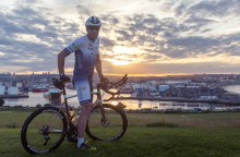 Scottish Cyclist Follows Phileas Fogg in World Record Attempt