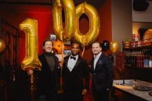 L'Osteria feiert 100. Restaurant in Deutschland