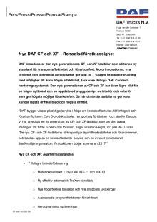 01. Nya DAF XF & CF