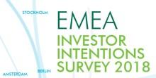 CBRE publicerar rapporten Investor Intentions Survey