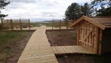 Tillgänglighetssatsning i Sandängesstrandens naturreservat