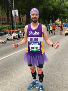 ​Nottingham runner celebrates 2,000 mile year-long mission with Charity Ball