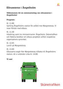 Program seminarium elbussarna i Ängelholm