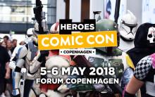 Comic Con Copenhagen 2018 slår dørene op denne weekend