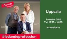 """Pressinbjudan """"En fika med professionen"""" i Uppsala"""