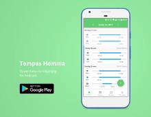 Öppen betatestning av nya Tempus Hemma Android!