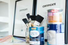 Fler Diplomerade Färgrådgivare för ännu bättre kundupplevelse på Fredells Byggvaruhus