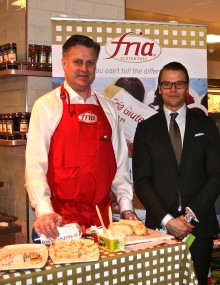 ROYAL VISIT FOR FRIA TO CELEBRATE THE UK'S GROWING APPETITE FOR NORDIC NOSH