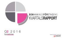 Kvartalsrapport Q2 2016: Ett starkt kvartal för bemanningsbranschen