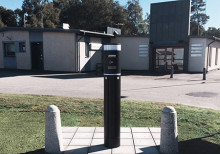 ECO One pryder parkeringen i Gällstad