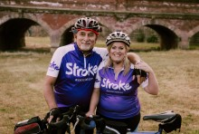 ​Young stroke survivor takes on 100 mile cycle for the Stroke Association