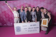 Nattvasan vann Gyllene Hjulet för Årets bästa sponsring
