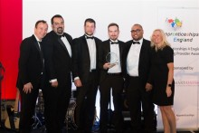 Mitie scoops Silver at the Apprenticeships 4 England awards