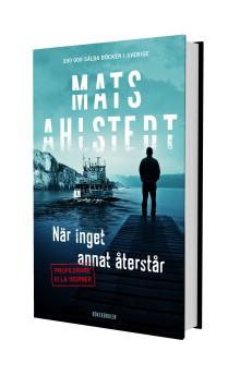 Alzheimerforskning står i centrum när Mats Ahlstedt släpper ny deckare.