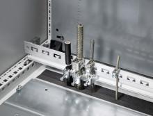 Ny montageskinne til EMC-beslag og trækaflastning