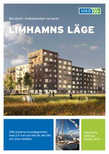 Information om 290 nya bostäder samt lokaler på Limhamns läge