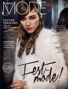 Omslag Metro Mode Magasin nr 4 2013
