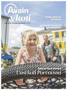 Avain & koti -lehti 3/2017 on ilmestynyt