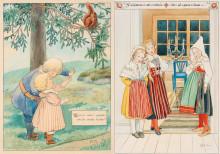 Nationalmuseum förvärvar Elsa Beskow-illustrationer och räddar barnkulturarv