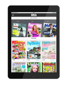 Egmont lanserer Flipp – strømmetjeneste for magasiner