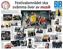 Artister på scen, Matfestivalen 2012