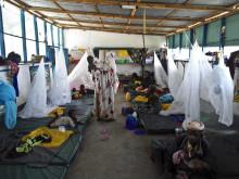 Överfulla undernäringskliniker i Somalia