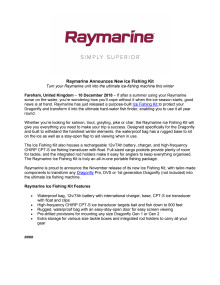 Raymarine Announces New Ice Fishing Kit