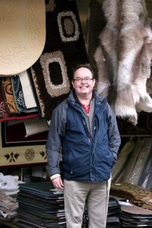 Trader Tony Hill celebrates 35 years on Bury Market