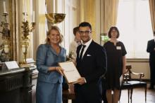 Bassam blev årets Global Swede