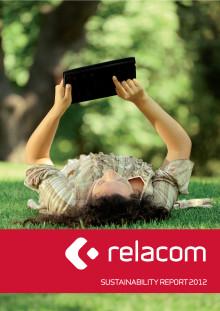Relacoms Hållbarhetsrapport 2012