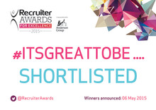 Recruiter Awards for Excellence tonight - Finegreen nominated for Recruitment Agency of the Year