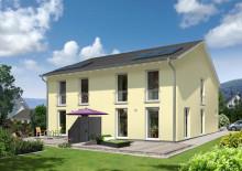 Neu bei Town & Country Haus: Schlankes Doppelhaus für kleine Grundstücke – Das Doppelhaus Aura 125