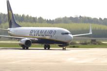 Ryanair fortsätter med trafik Västerås-London