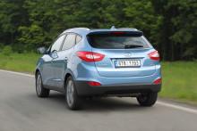 Status pressebiler fra Hyundai høsten 2013