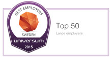 Sigma listed among best big employers in Sweden according to Universum and Metrojobb survey